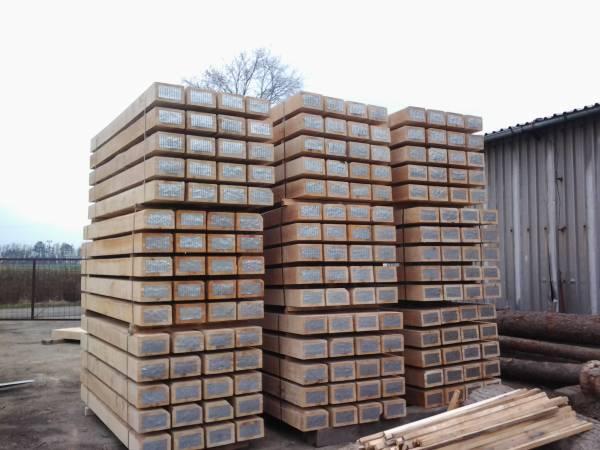 Prodej dřevěných pražců